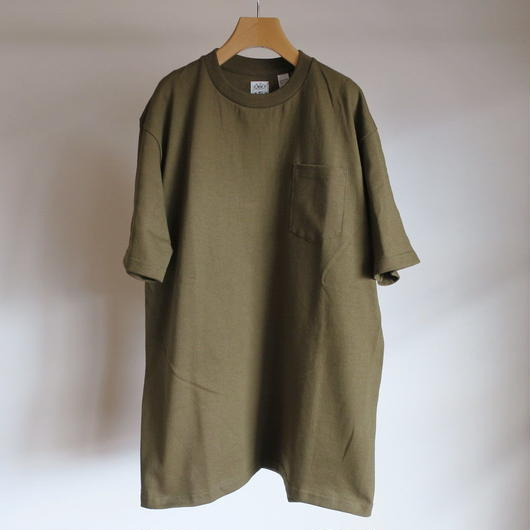 ANATOMICA MEN 丸胴 CREW NECK POCKET Tシャツ