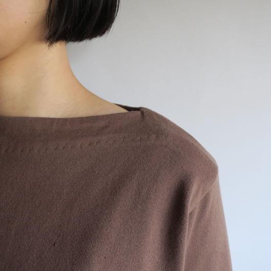 YAECA WOMEN バスクシャツ ロング 3colors