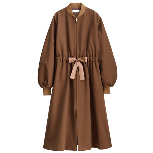 Graphpaper WOMEN Cotton Double Cloth Belted Long Coat