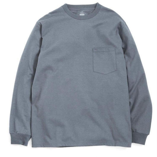 Graphpaper MEN L/S Pocket Tee C.CRAY