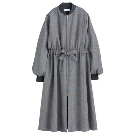 Graphpaper WOMEN Glencheck Belted Long Coat