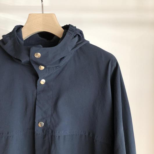 YAECA ユニセックス 60/40クロスフードシャツ NAVY