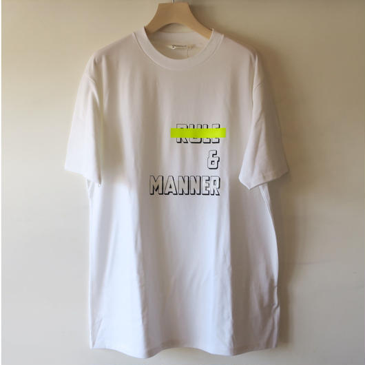 DIGAWEL RULE & MANNER T-SHIRT