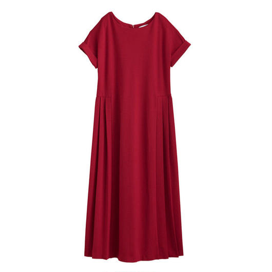 Graphpaper WOMEN SS Jersey Dress RED