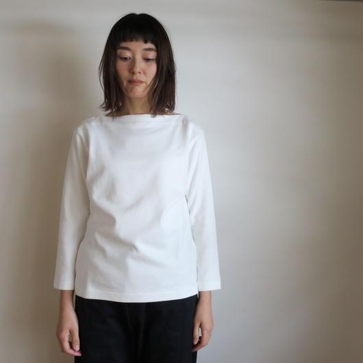 YAECA WOMEN バスクシャツ ロング 2colors