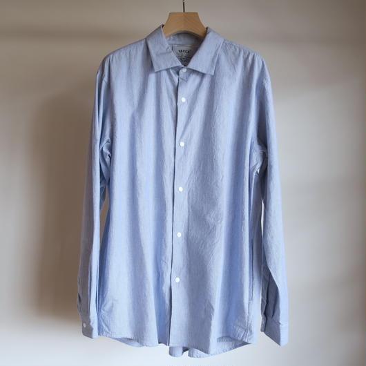 YAECA MEN COMFORT SHIRT EXTRA WIDE BLUE-ST 18113