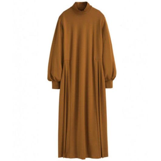 Graphpaper WOMEN High Neck Jersey Dress 3colors