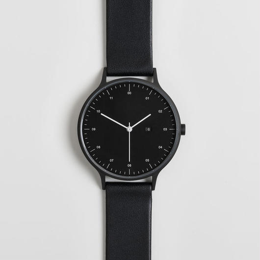 INSTRMNT 時計 BLACK/BLACK