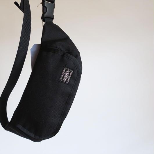 KAPTAIN SUNSHINE × PORTER  TRAVELLER FUNNY BAG  BLACK