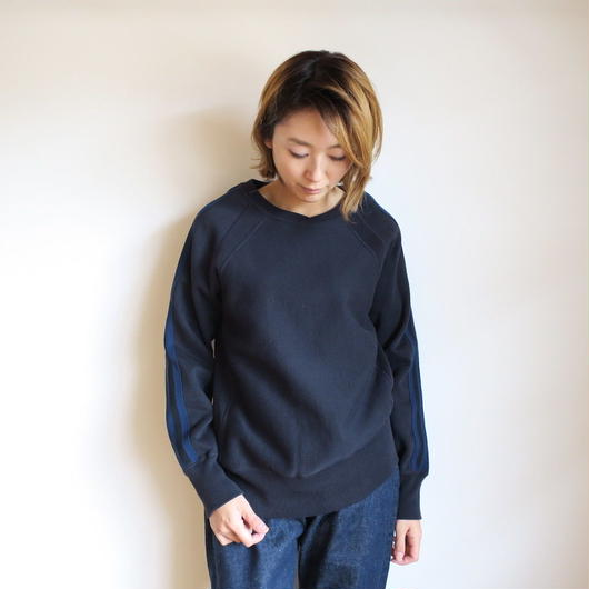 ENGINEERED GARMENTS Crew Neck Sweat ネイビー