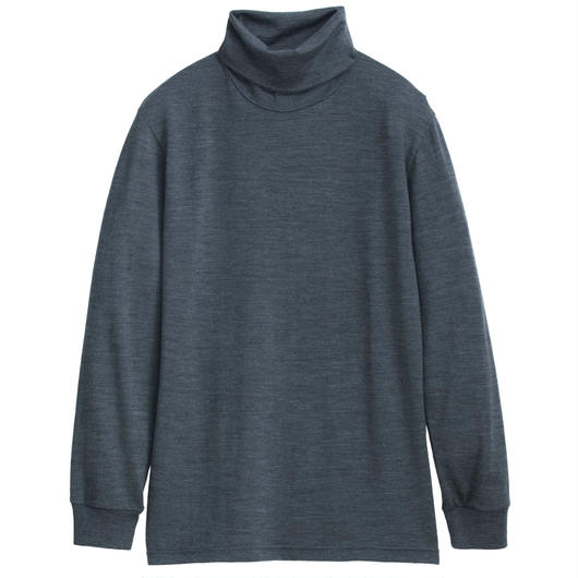 Graphpaper Washable Wool High Neck Tee 3colors