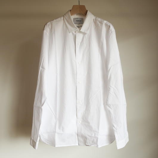 YAECA MEN COMFORT SHIRT RELUX WHITE 18107