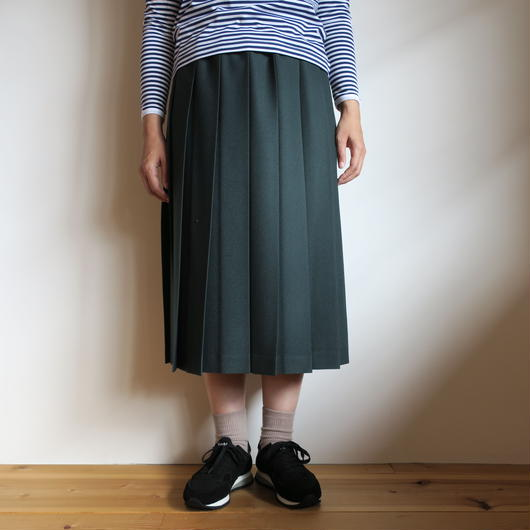 Charpentier de Vaisseau Pleated Skirt Wool 5colors