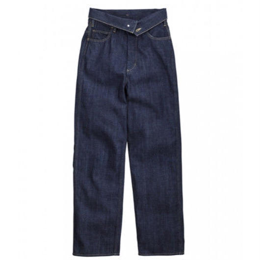 Graphpaper WOMEN Turnover Waisted Denim Pant OW