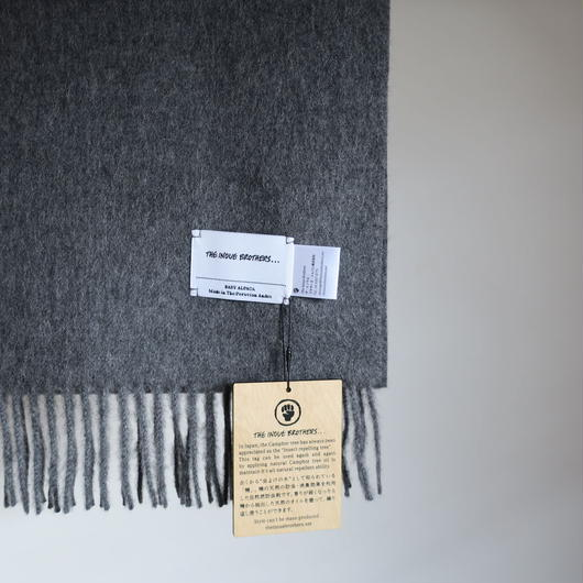 THE INOUE BROTHERS ... Brushed Scarf 6colors