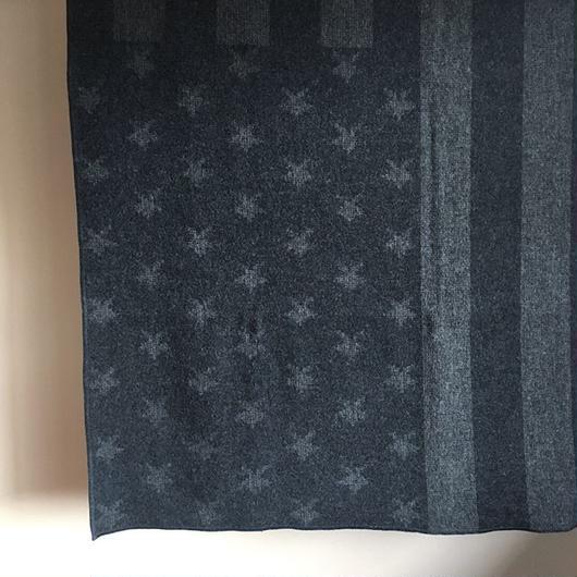 ENGINEERED GARMENTS Wool Blanket-Stars and Stripes Dobby