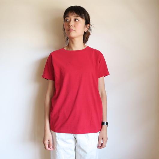 YAECA WOMEN Uネック Tシャツ 4colors 88006