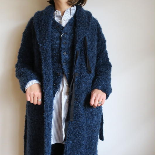 FWK by ENGINEERED GARMENTS Shawl Collar Knit Jacket  Boucle