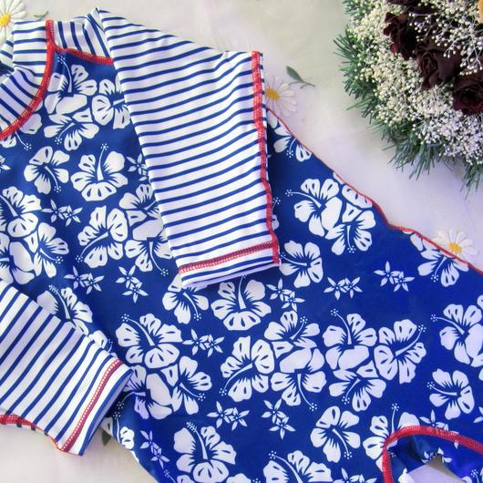 "Archimede ""HAWAIAN MARINE UV Protection"" SPF+50水着 for Baby Boy"