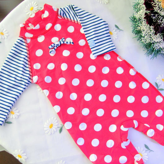 "Archimede ""ALIZE UV PROTECTION"" SPF50+ UV プロテクション水着 for Baby Girls"