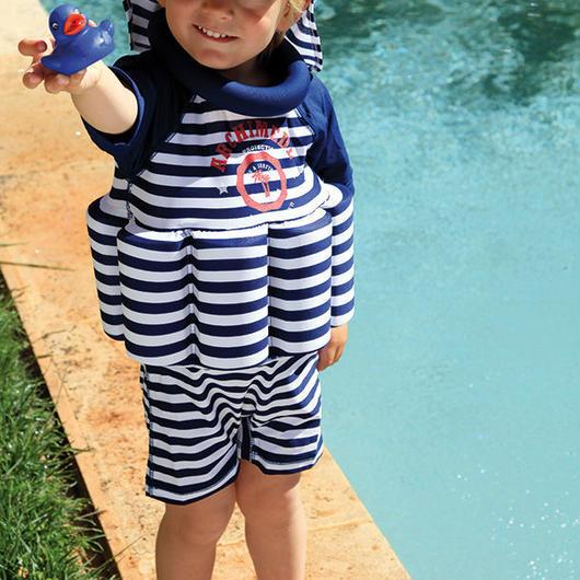 "Archimede ""BORIS UV Protection"" 浮き輪付水着 SPF50+UVプロテクション for Babys & BOYS"