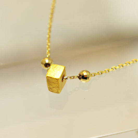 ギベオン隕石18金ブレスレット