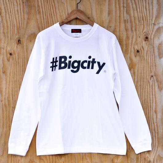 #Bigcity logo ロンtee  white