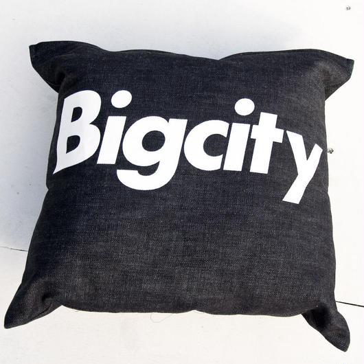 Bigcity LOGO クッション