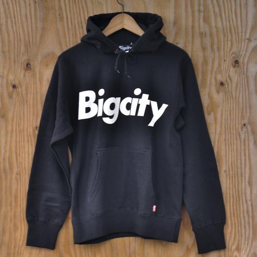Bigcity LOGO 12オンス HOOD SWEAT  BLACK