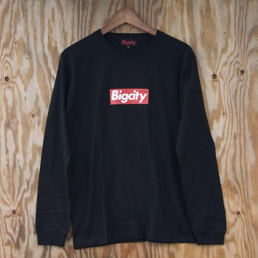 Bigcity L/STEE BOXLOGO *人気のBOXLOGOの ロンTEE BLACKです