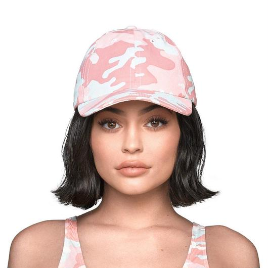 Kylie jenner/official CAMO CAP ピンク