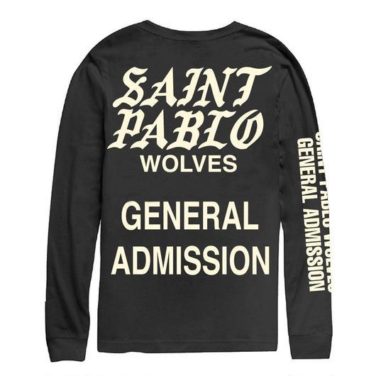 Saint Pablo Tour/official long sleeve