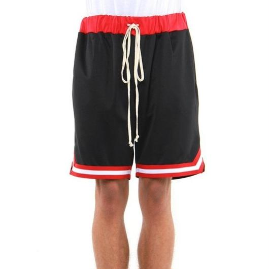 EPTM/BasketBall Shorts Black×Red