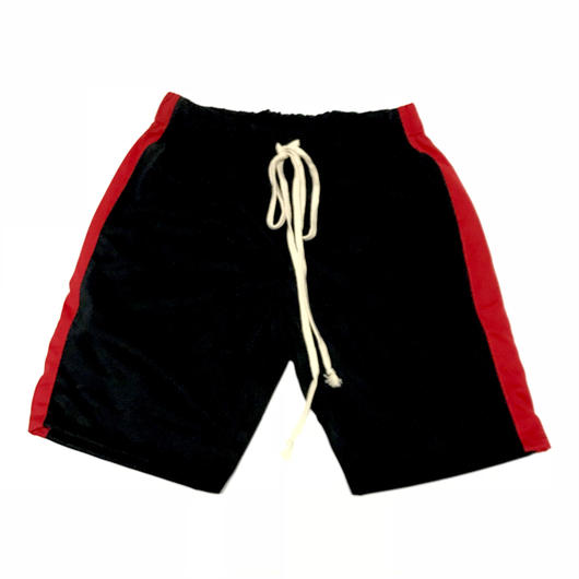 EPTM/Track Shorts  BLACK×RED