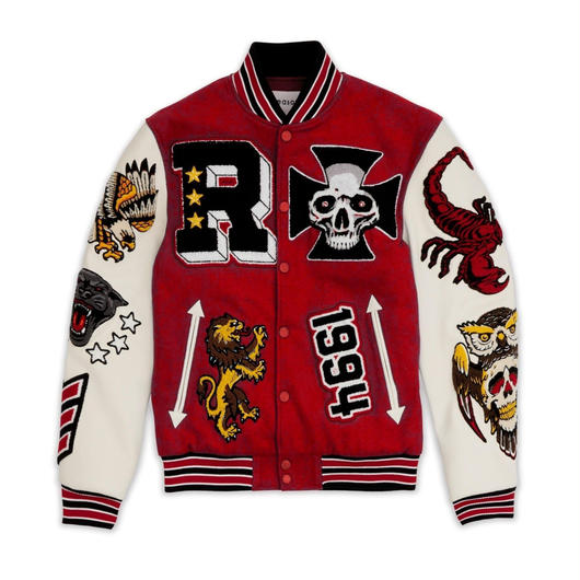 Reason Clothing Newyork/WOOL JACKET RED