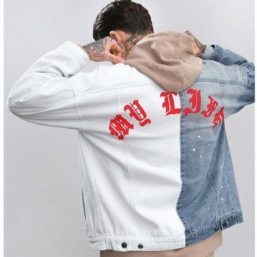 WOSS.official/Paint Denim Jacket