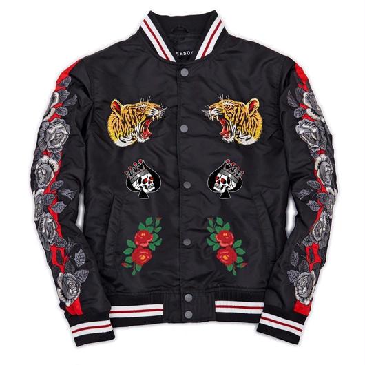 Reason Clothing Newyork/Tiger Souvenir Jacket
