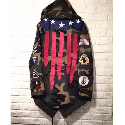 Reason Clothing Newyork/Camo Jacket