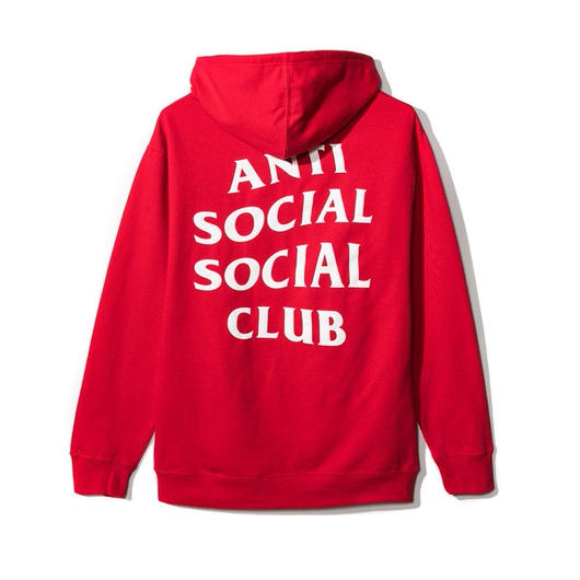 Anti Social Social Club/Logo フーディー RED 限定カラー