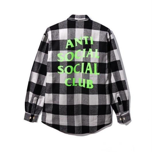 Anti Social Social Club/Logo チェックシャツ
