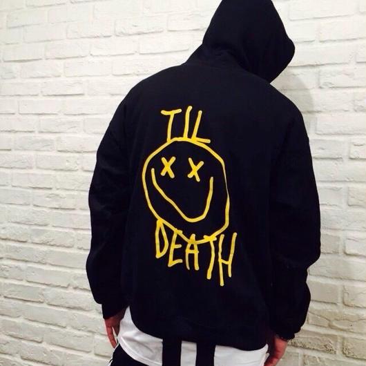 Ryan Hawaii/Smile hoodie  BLACK