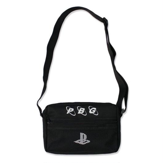 Pretty Boy Gear/Play no game SHOULDER BAG  BLACK