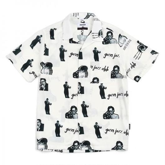 GOZER/Jazz Club Shirts ホワイト