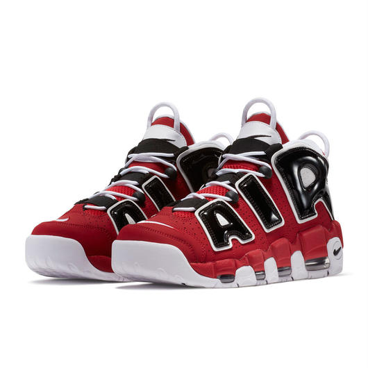 "Nike/Air more uptempo   ""Red×Black"" BULLSカラー LADYS"