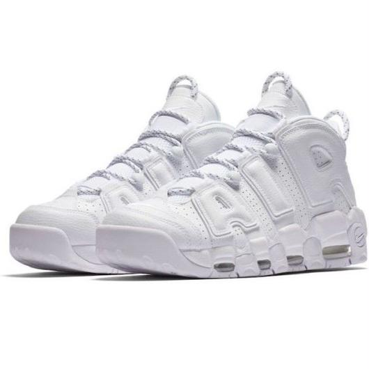 "Nike/Air more uptempo '96  ""triple white"""