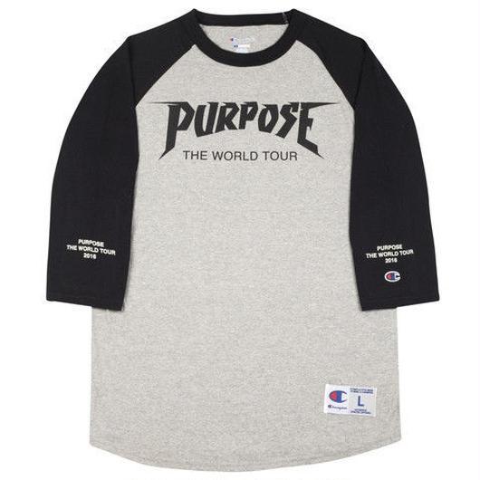Purpose tour/Justin bieber official Raglan Tee