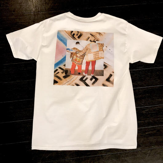 Mismatch NYC/SAVAGE Tshirt  ホワイト