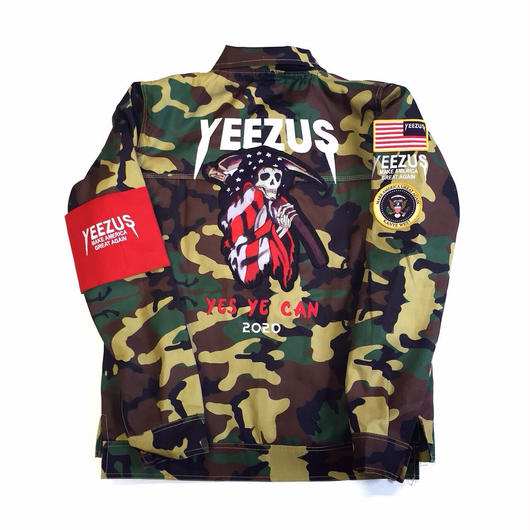 Nineteenth Letter/Yeezus Campain Camo Jacket