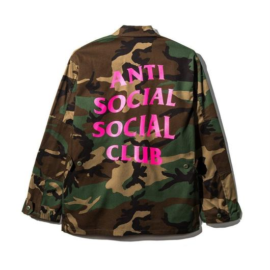 Anti Social Social Club/Never Change Camo Jacket