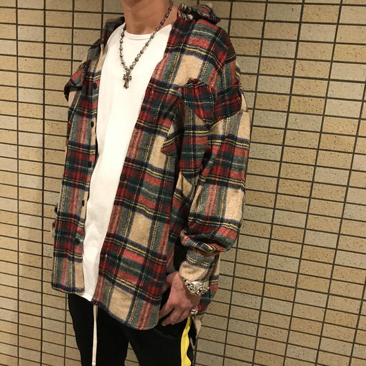 Mismatch NYC/Oversized Flannel shirts